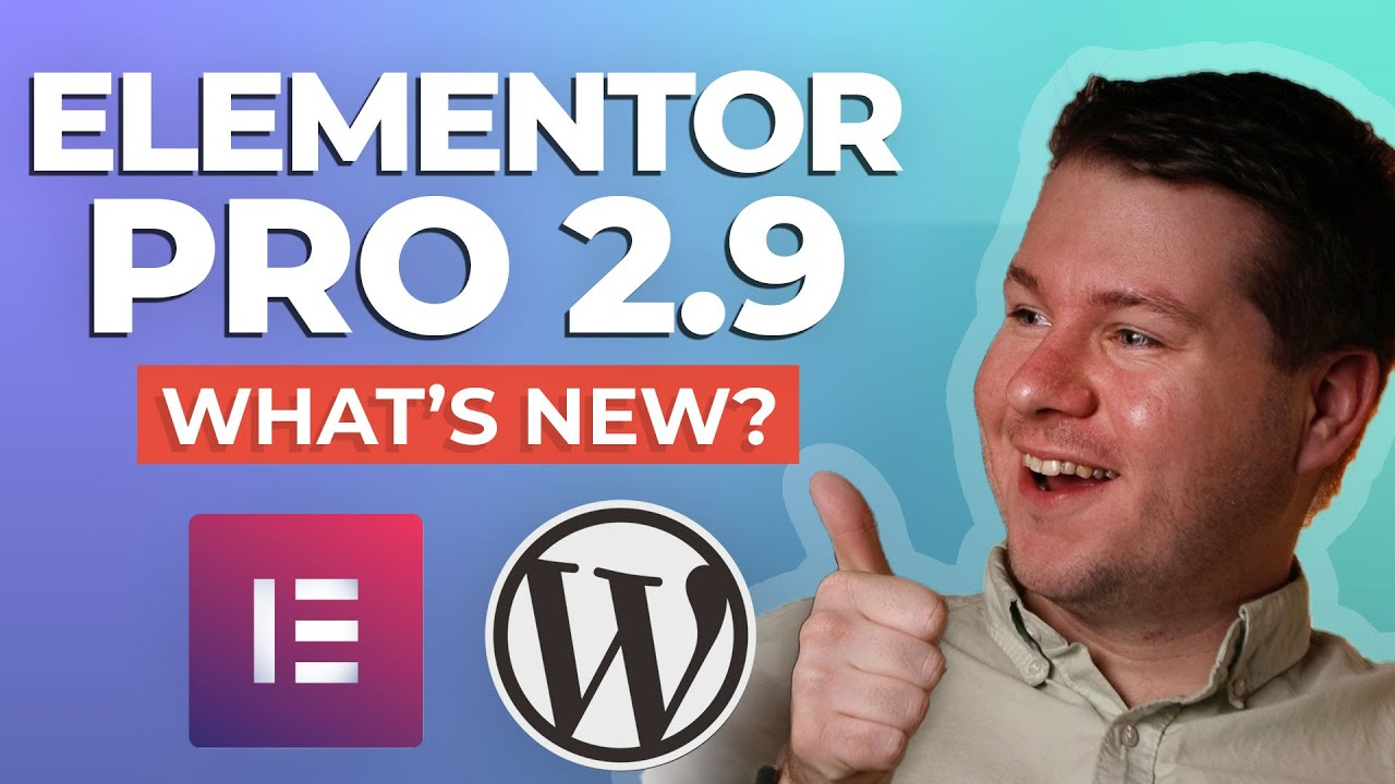 Elementor PRO 2.9: What's New? - YouTube