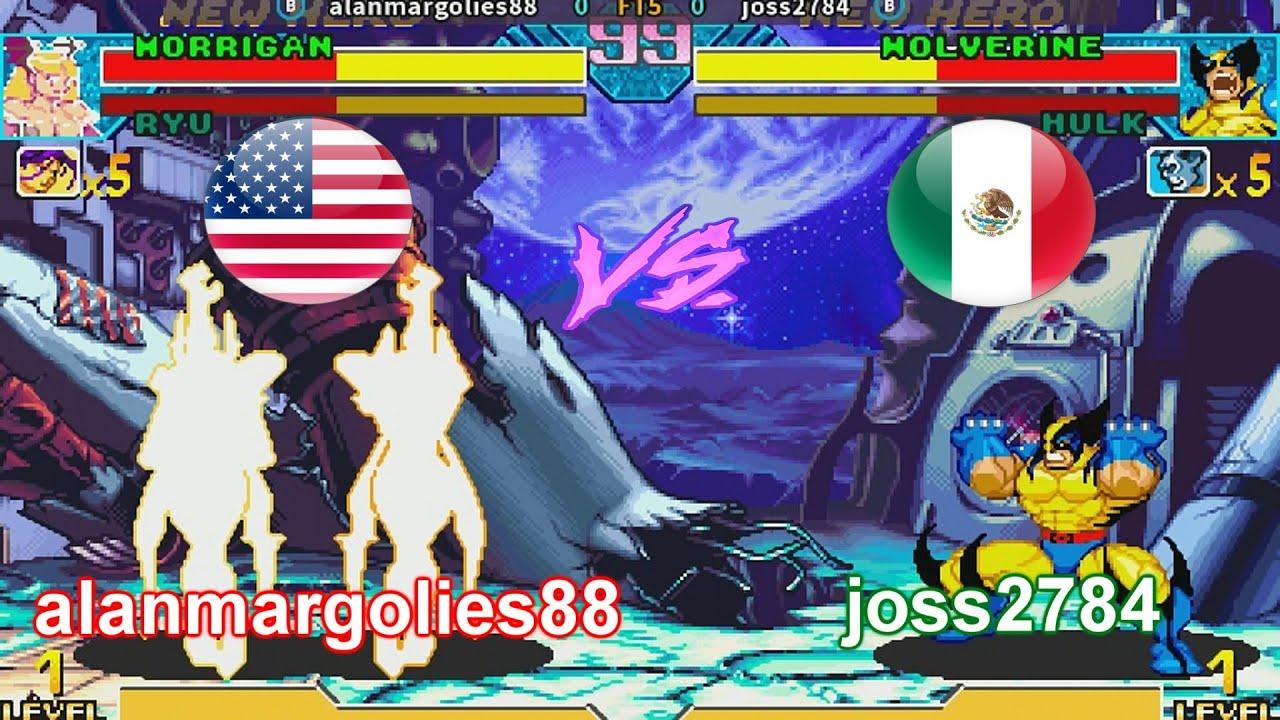 Marvel vs Capcom - alanmargolies88 vs joss2784 FT5