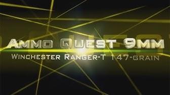 Ammo Quest 9mm: Winchester Ranger T 147gr test in ballistic gel