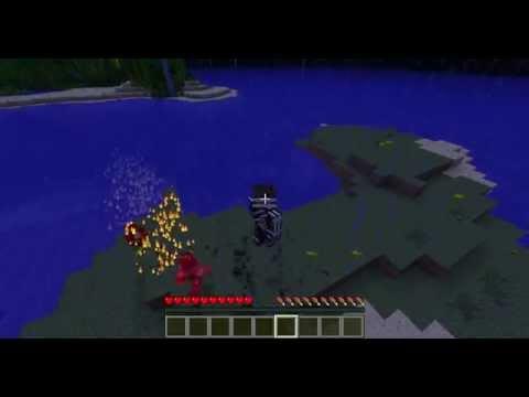 Minecraft Avatar Craft битва магов огня