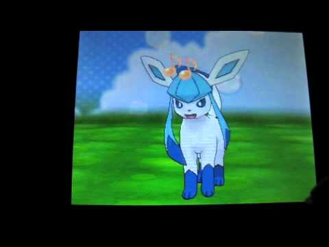 Shiny Eevee evolves into Leafeon, Glaceon and Sylveon ...