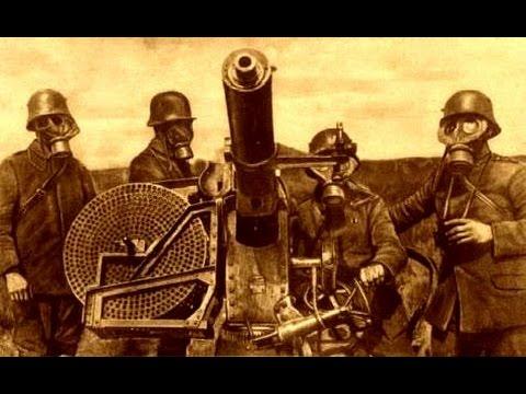 Cañones Flak de 37mm Krupp y Maxim (1917)