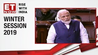 Prime Minister Narendra Modi addresses the 250th session of the Rajya Sabha