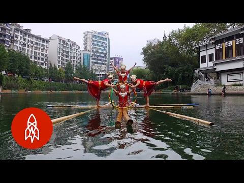 Thumbnail: Dancing on Water: The Chinese Art of Bamboo Drifting