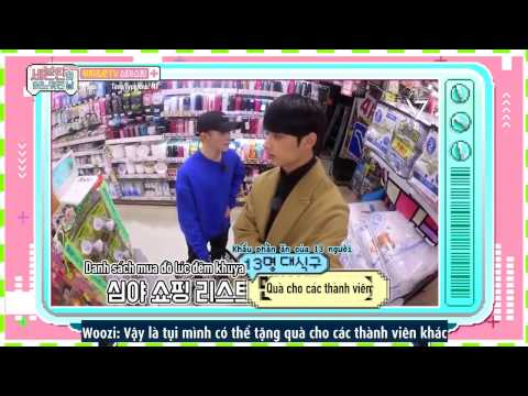 [Phố 17] [VIETSUB] 170331 Woozi & Jun TV -  Seventeen One Fine Day in Japan Ep 1