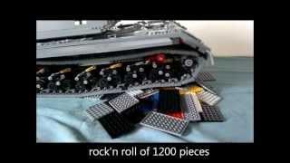 Lego Pzkpfw VIII Maus panzer / tank / tanque