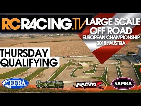 EFRA LSOR Euros - Thursday Qualifying - Live!