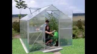 Szklarnie aluminiowe ogrodowe e-millennium.eu