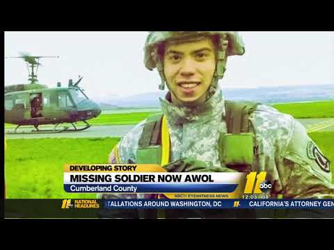 Search Continues For AWOL Fort Bragg Soldier