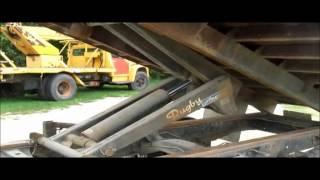 1989 Chevrolet C60 Custom Deluxe Dump Flatbed Truck For Sale | No-reserve Auction September 1, 2015