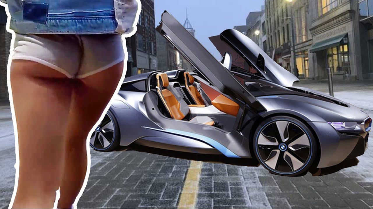 2020 BMW i8 Roadster First Edition | Girls & BMW i8