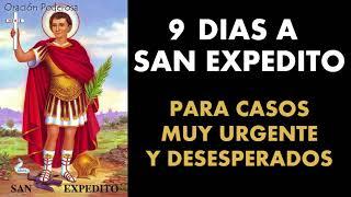 9 días a San Expedito para casos muy urgentes y desesperados