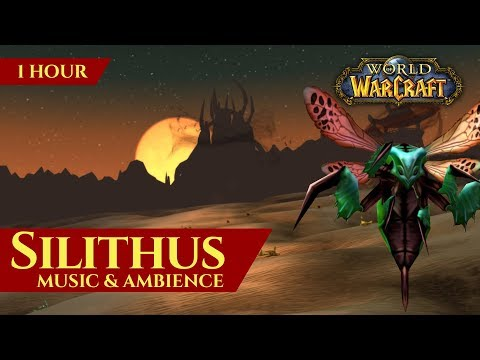 Vanilla Silithus - Music & Ambience (1 hour, 4K, World of Warcraft Classic)
