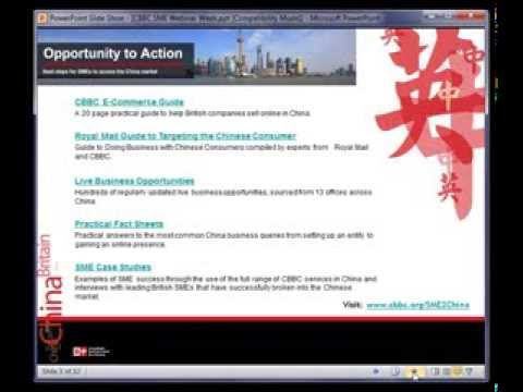 CBBC SME Series: 1 Finding an Agent or Distributor in China