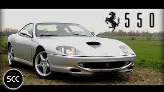 FERRARI 550 MARANELLO - 1998 - Test drive in top gear | SCC TV