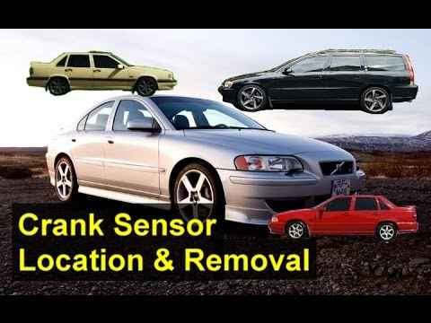 Crank sensor location, Volvo S80, S60, V70, S70, XC90, etc ...