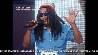 Imitador de Bob Marley troleó al popular Carloncho