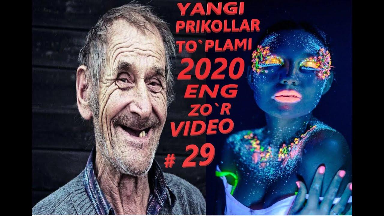 УЗБЕК ПРИКОЛ 2020 ?  YANGI UZBEK PRIKOLLARI ? Yangi Eng Zor ? Video Prikollar Toplami 2020 yi # 29 M