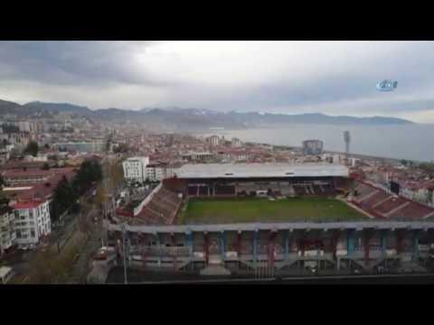 Hüseyin Avni Aker Stadyumu'na İlk Kepçe Vuruldu