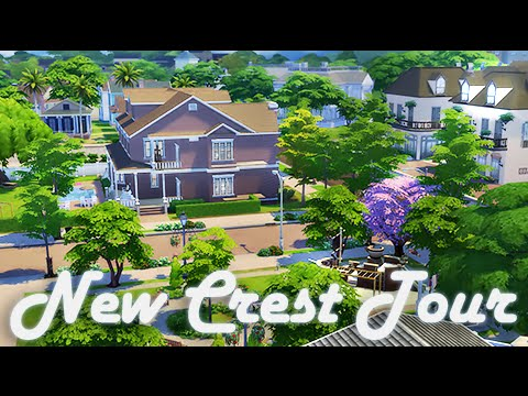 The Sims 4 | World Tour | Newcrest + How I