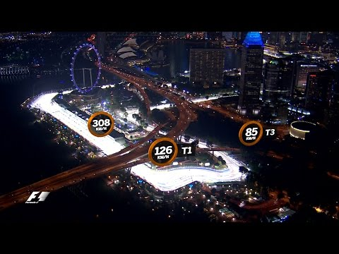 A Bird's Eye View of the Marina Bay Street Circuit   Singapore Grand Prix 2016