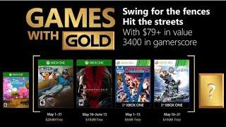 Games with Gold – Free games in May 2018 for Xbox