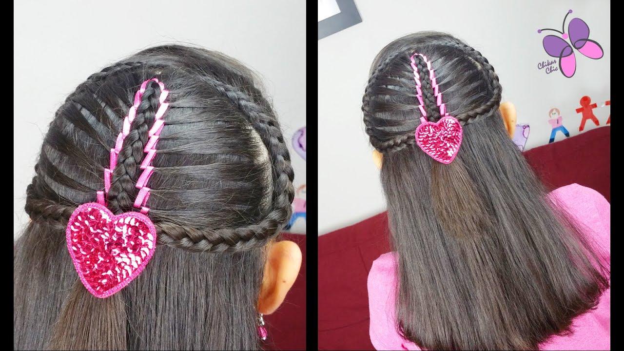 Ribbon Mermaid Braid Cute Girly Hairstyles Hairstyles