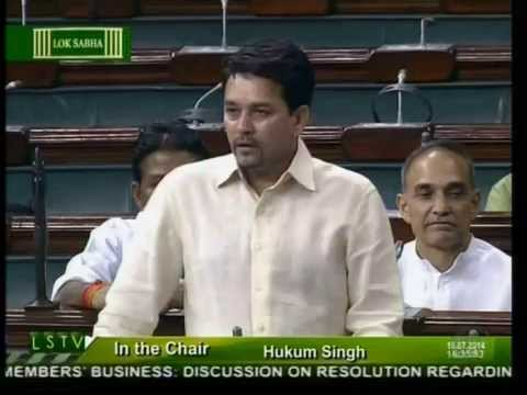 Shri Anurag Thakur on creation of a new union ministry for the development of Himalayan States