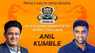 'I beat the Tsunami back in 2004😎😎' - Anil Kumble | DRS with Ash | Episode 8