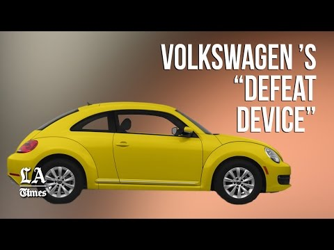 How Volkswagen cheated on emissions rules