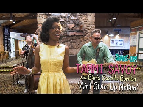 'Ain't Givin' Up Nothin' TAMMI SAVOY & THE CHRIS CASELLO COMBO (Shakeup Festival) BOPFLIX Sessions