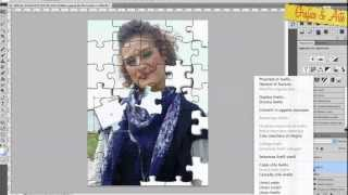CREARE UNA FOTO IN PUZZLE--Photoshop Tut.20