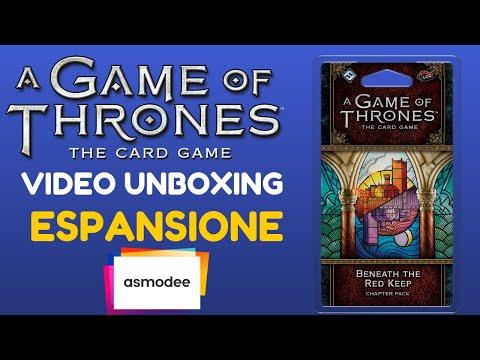 Trono di Spade LCG  - Unboxing Sotto la Fortezza Rossa