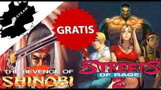 [NO DISPONIBLE] NOS REGALAN 💚 STREET OF RAGE 2  Y THE REVENGE OF SHINOBI