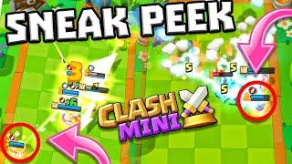 Clash Mini *SNEAK PEEK* In To The Dev Team
