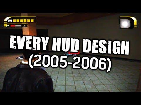 Dead Rising - Every HUD Design (2005-2006)