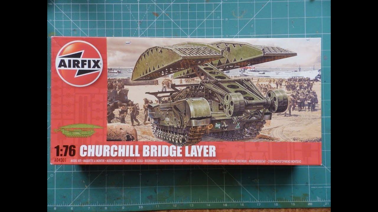 AIRFIX® A04301 WWII British Churchill Bridge Layer in 1:76