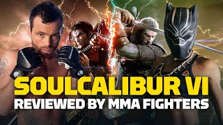 Here's What MMA Fighters & Pro Gamers Think of Soulcalibur 6