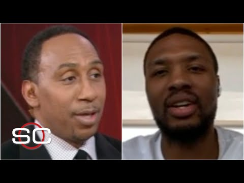Stephen A. asks Damian Lillard about roasting the Clippers after loss vs. the Nuggets | SportsCenter