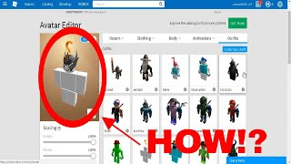 How to make your roblox avatar not wear default clothes!