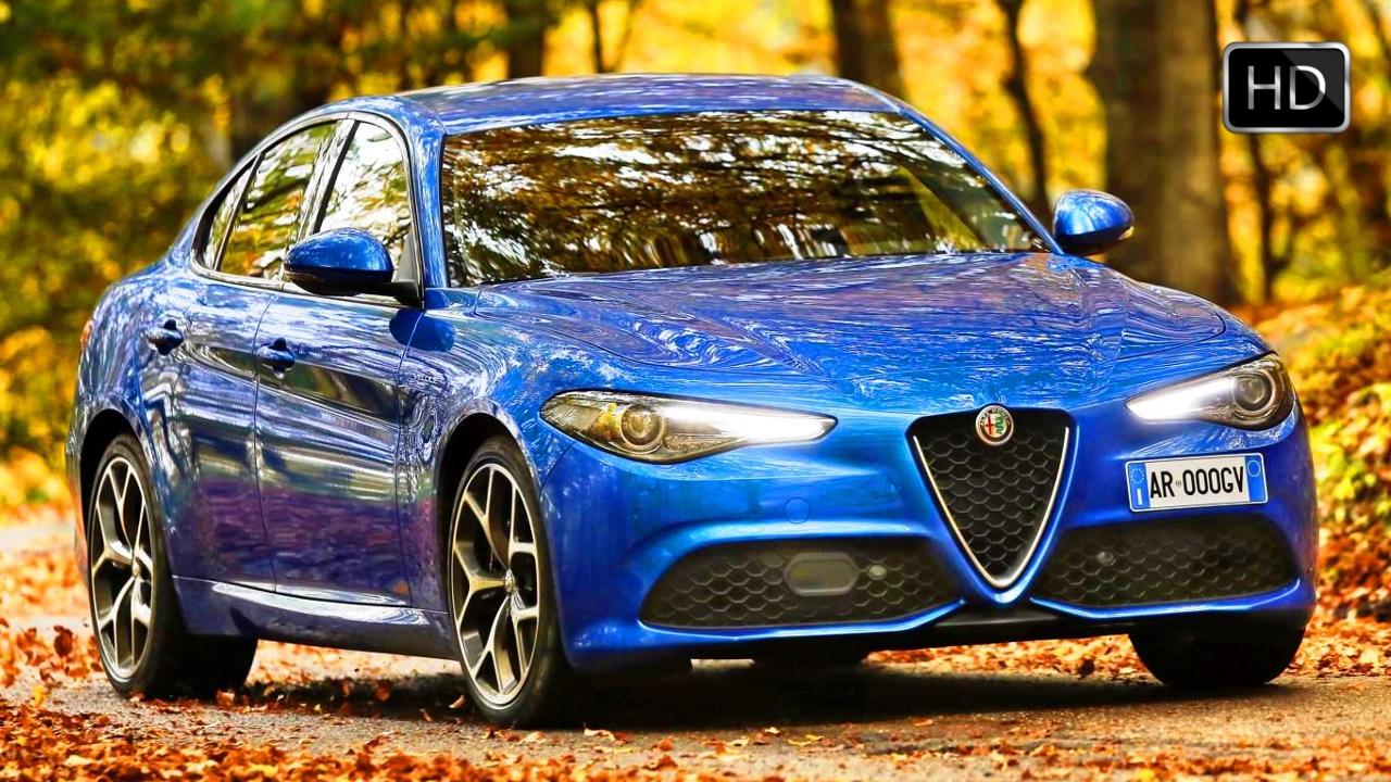 2017 Alfa Romeo Giulia Veloce Exterior Interior Design Road Driving Footage Hd Youtube