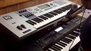 Yamaha MOXF - Vocoder - Get Lucky