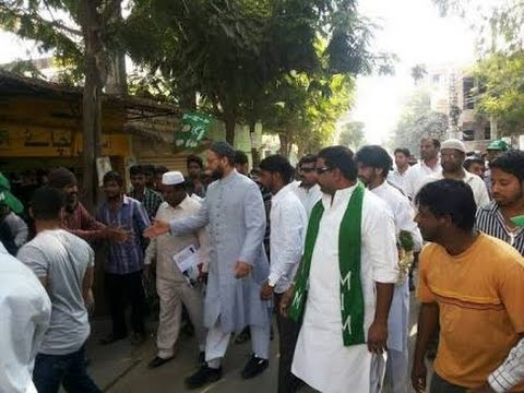 AimiM campaign in New Delhi