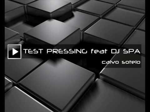 TEST PRESSING feat DJ SPA-Calvo Sotelo (1990)