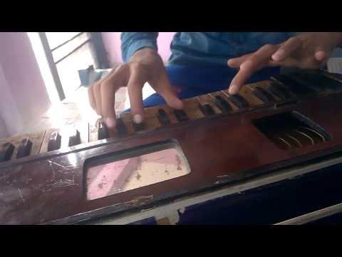 mere rashke kamar on harmonium by Harjeet