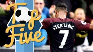 top 5 goals 2016   man city review of the year