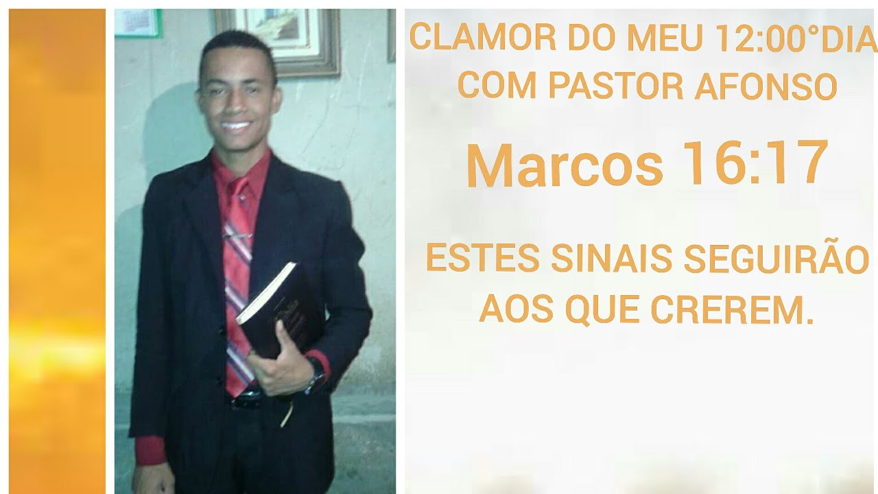 CLAMOR DO MEU 12:00° | COM PASTOR AFONSO
