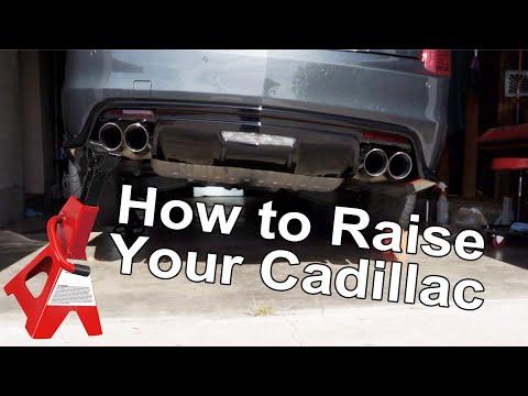 Proper Cadillac ATS/CTS Jack Points