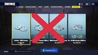 WARNING DO NOT BUY V BUCKS ON FORTNITE BATTLE ROYALE (PS STORE)