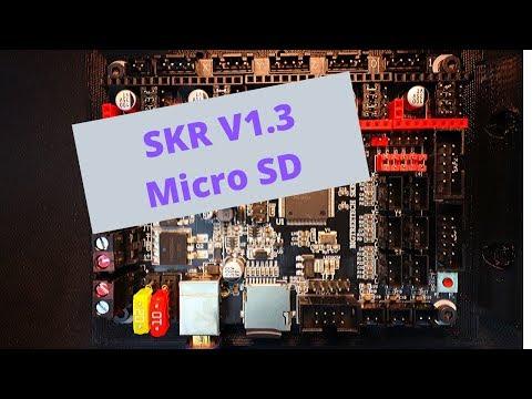 SKR 1.3 - TF Drive Marlin Firmware Loading